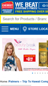 Chemist Warehouse – Win A Trip To Hawaii (prize valued at $18,500)