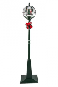 Christmas 4 You – Win a standing snowing & musical street lamp prize valued at $295
