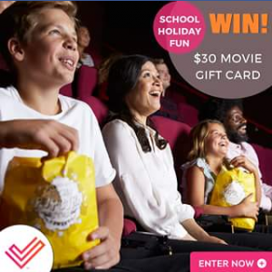 Cited – Win One $30 Event Cinemas Gift Card For The School Holidays