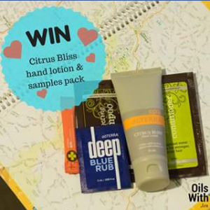 Oils with Jen – Win 1 X 'citrus Bliss Hand Lotion and Sample Pack'