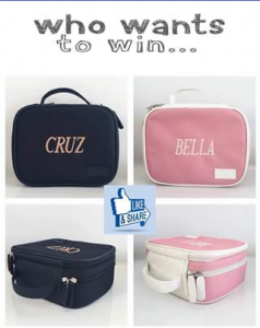 Cruz Co – Win One of The New Personalised Lunchbox Range