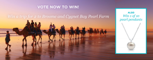 Cygnet Bay Pearls – Win A Trip To Broome For Two