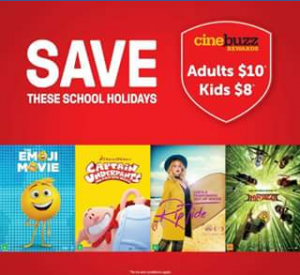 Event Cinemas Australia Fair – Win a Family Pass to Use During School Holidays