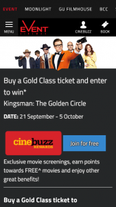 Event Cinemas – Win a Luxury Cruise for Two on Celebrity Solstice (prize valued at $2,000)