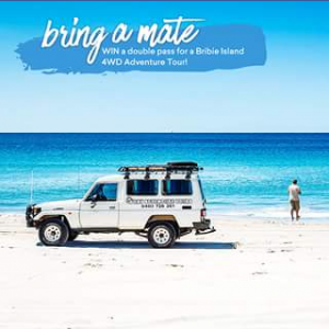 Experience Oz – Win A Double Pass To Bribie Island 4wd Adventure Tour