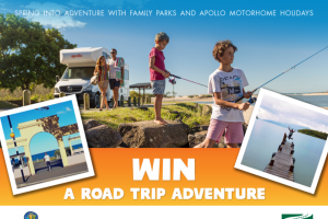 Family Parks – Apollo – Win a Road Trip Adventure In Either Australia Or New Zealand (prize valued at $1,500)