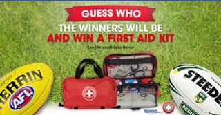 First Aid Kits – Win One Of 3 X K150 Home