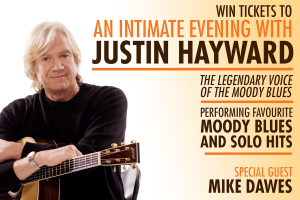 2GB Macquarie Media – Win Tickets To Justin Hayward