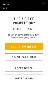 Get Lost Magazine – Win A Trip To Norway For A 15-day 'follow The Lights' Tour For 2 (prize valued at  $19,000)