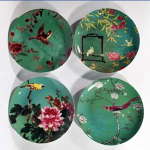 Gypsiana – Win A Set Of Anna Chandler Design Green Birds Plates – Close Date A Guess (prize valued at $47.95)