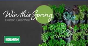 Holman Industries – Win a Vertical Garden Planting Kit
