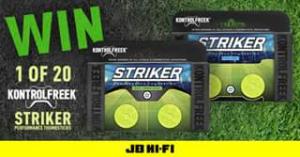 JB HiFi – Win One of Twenty Pairs of Kontrolfreek Soccer Themed Performance Thumbsticks