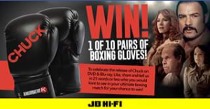 JB HiFi – Win 1/10 Pairs Of Boxing Gloves  (prize valued at $160)