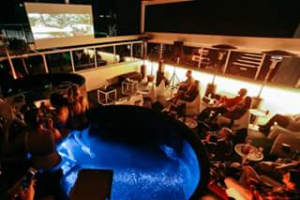 Limes Hotel  Rooftop Bar – Win A Double Pass To Wayne's World Rooftop Cinema