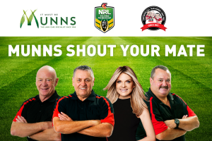 """Macquarie Media – Two Places At The """"immortals Function"""" At The Grand Final with CCT Munns Shout Your Mate Competition"""