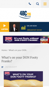 Macquarie Media – Win $5000 Towards Your Ultimate Footy Grand Final Party