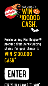 Mini Babybel cheese – Win $100000 Cash (prize valued at $5,000)