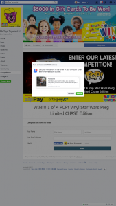 Mr Toys Toyworld – Win One Of Four Star Wars Porg Ltd Chase Edition Pop Vinyl