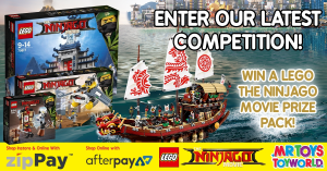 Mr Toys Toyworld – Win This Awesome Lego The Ninjago Movie Prize Pack