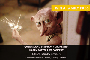 MyCitylife – Win a Family Pass to QSO's Harry Potter Live Concert