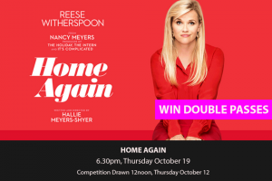 MyCitylife – Win a In Season Double Pass to Home Again