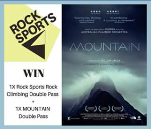 New Farm Cinemas – Win Double Pass to Rocksports Indoor Climbing Fortitude Valley