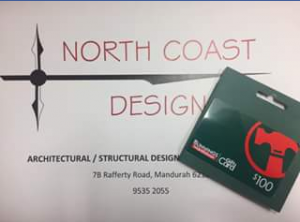 North Coast Design – Win A $100 Bunnings Voucher To Go Towards Your Next Project (prize valued at $100)