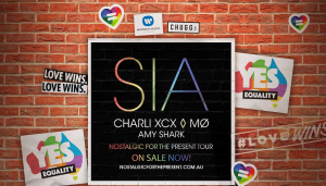 Nova FM – Win Tickets To See Sia's Nostalgic For The Present Tour