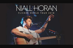 NovaFM Smallzy's – Win Tickets to see Niall Live in concert