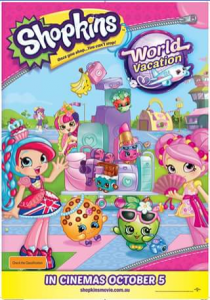 OAAWK – Win One Of Four Family Passes To See Shopkins World Vacation