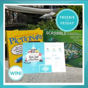 Pacific Fair Shopping Centre – Win Two Flicks Fun & Food Passes & a Board Game