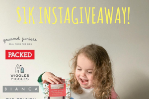 Packed.realfood  – Win a wonderful prize worth over $1000