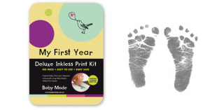 Parent Hub – Win 1 Of 3 'my First Year' Deluxe Inkless Print Kits By Baby Made (prize valued at $55)