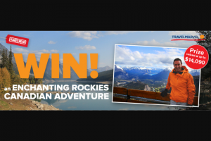 Places We Go – Win an Enchanting Rockies Canadian Adventure valued at $14,090