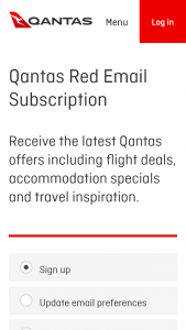 Qantas – Win A $20000 Qantas Flights Voucher (prize valued at  $23,500)