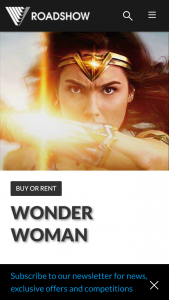 Roadshow Entertainment – Win 1 of 20 Wonder Woman Packs Containing a Tank Top (prize valued at $3,937)