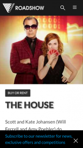 Roadshow – Win a Copy of The House on Dvd $100 Good Food Gift Card & Two Bottles of Wine