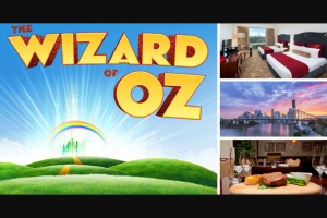 Royal on the Park – Win Wizard of Oz The Musical (prize valued at $550)