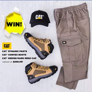 8a2bc2bfd6a RSEA Safety Australia – Win $300 Worth of Cat Workwear (priz ...