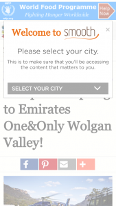 Smooth fm – Win escape to Emirates One&Only Wolgan Valley (prize valued at  $3,100)
