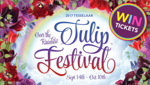 Smooth FM – Win 2 tickets to the 2017 Tesselaar Tulip Festival  (prize valued at $65)