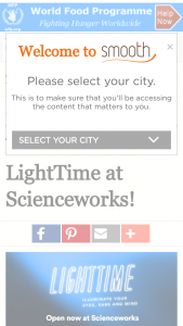 Smooth FM – Win Tickets To Lighttime At Scienceworks
