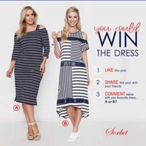 Sorbet – Win a Dress