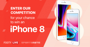 Sportsmate – Win The New IPhone 8 With League Live (prize valued at $1,079)