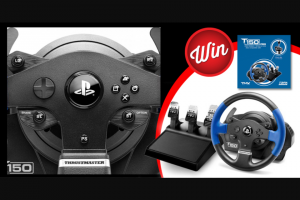 Stack Magazine – Win a Thrustmaster T150 Pro Force Feedback Racing Wheel