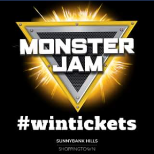Sunnybank Hills Shoppingtown – Win 4 X Tickets To Monster Jam