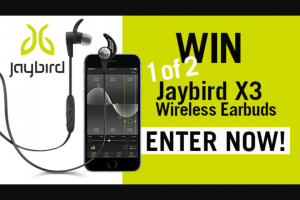 Sunrise family – Win One of Two Pairs of Jaybird 3xwireless Earbuds