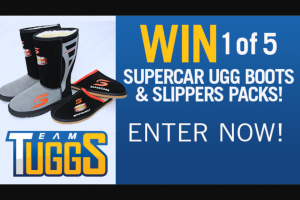 Channel 7 – Sunrise family – Win Supercar Ugg Boots & Slippers Packs