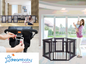 Sweepon – Win Gates From Dreambaby®'s Extensive And Award-Winning Gate Range (prize valued at $300)