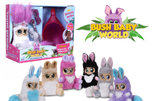 Sweepon – Win 1 of 4 Bush Baby World Toy Packs (prize valued at $268)